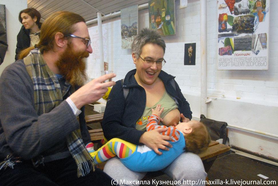 Сарра с младенцем