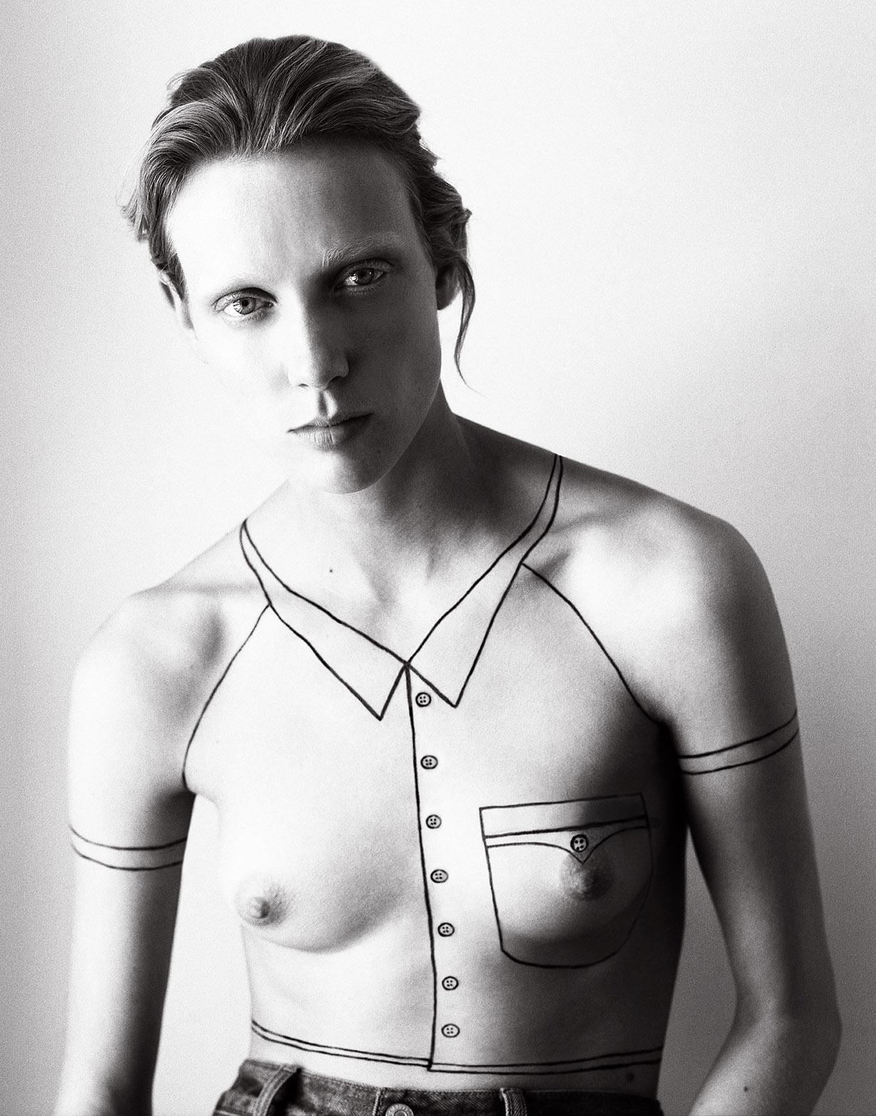 портреты модели и фотографа Dorith Mous