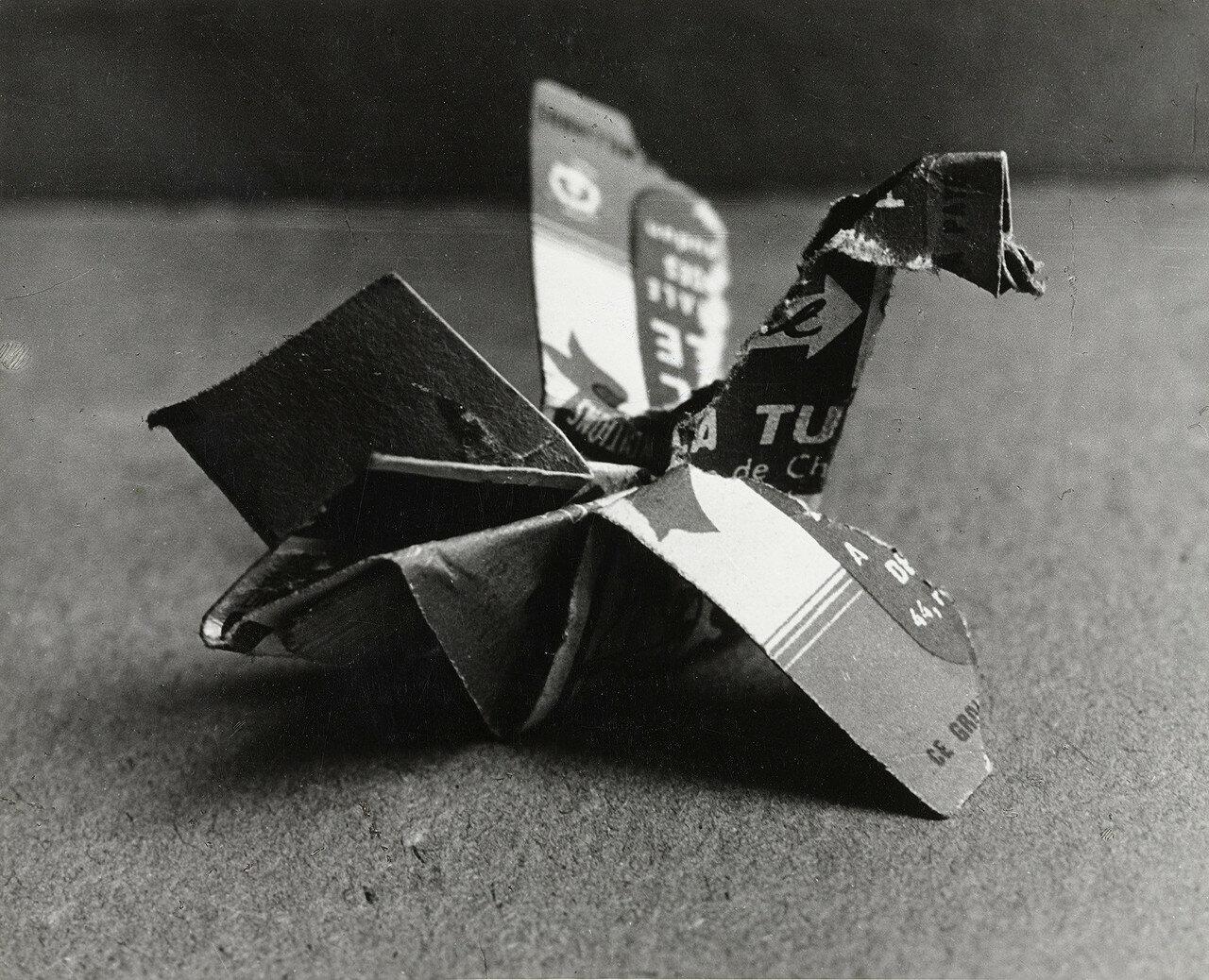 1943. Пикассо. Скульптура (спичечный коробок)