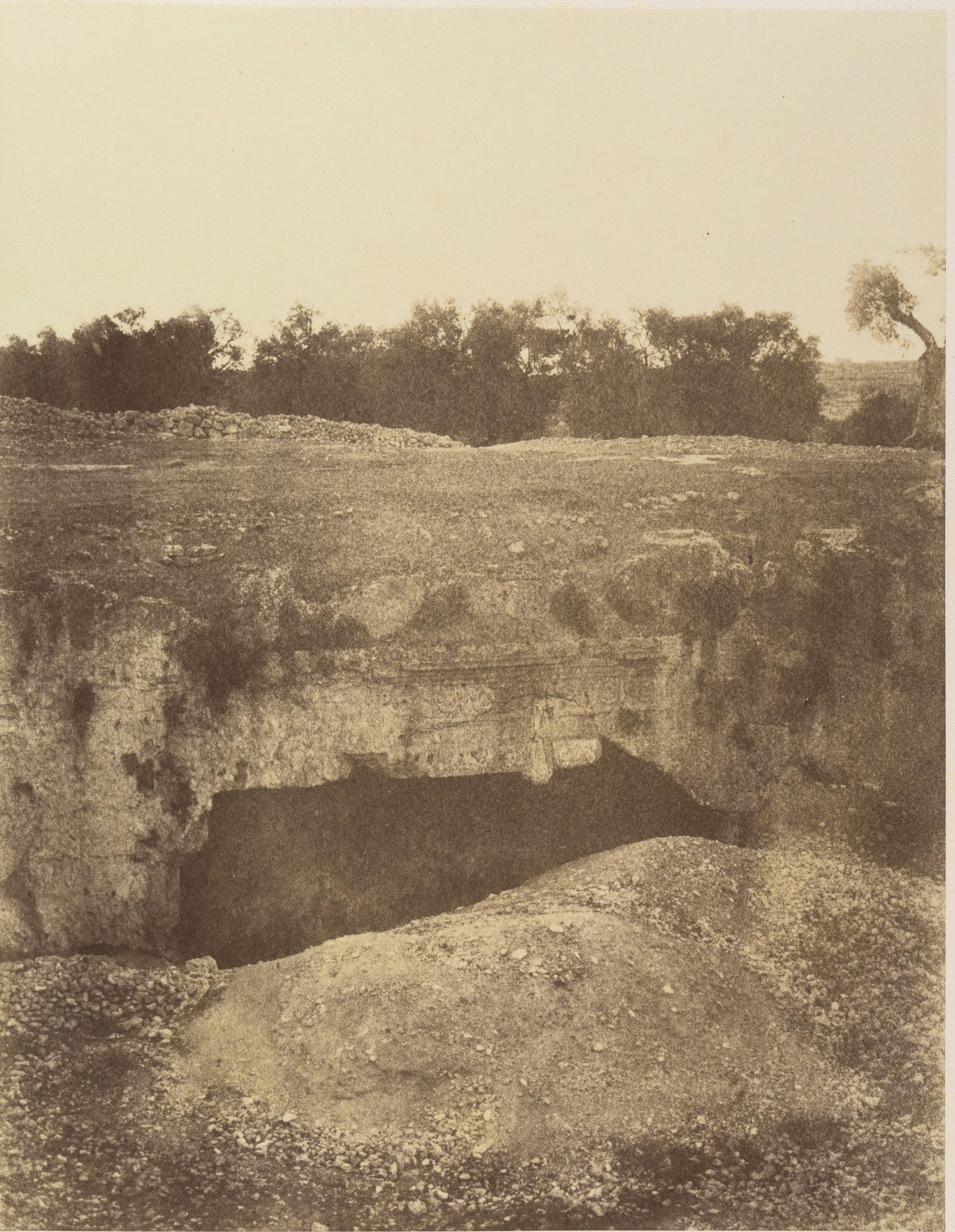 Окрестности Иерусалима. Гробницы царей