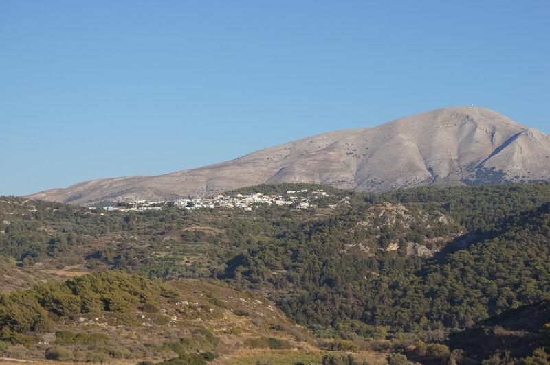 Виноделы Эбоны на Родосе в Греции