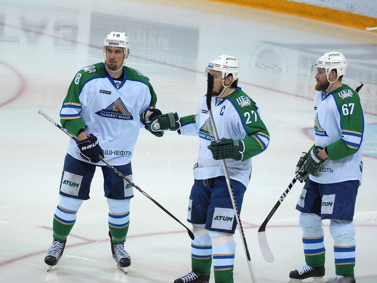 81Плей-офф 2016 Восток Финал Металлург - Салават Юлаев 31.03.2016