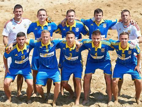 Наши - чемпионы! Сборная Украины по пляжному футболу победила в Евролиге