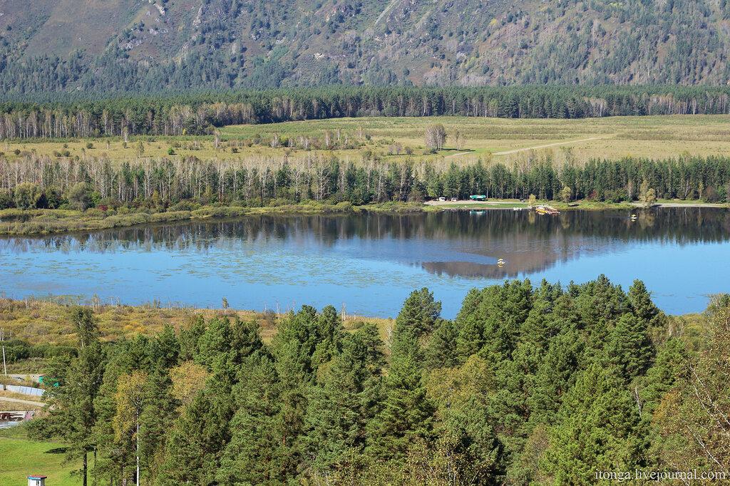 Горный Алтай, Озеро Манжерок