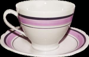 чашки с блюдцем