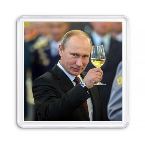 МАГНИТ АКРИЛОВЫЙ / ПРЕЗИДЕНТ РФ (арт. 000277)