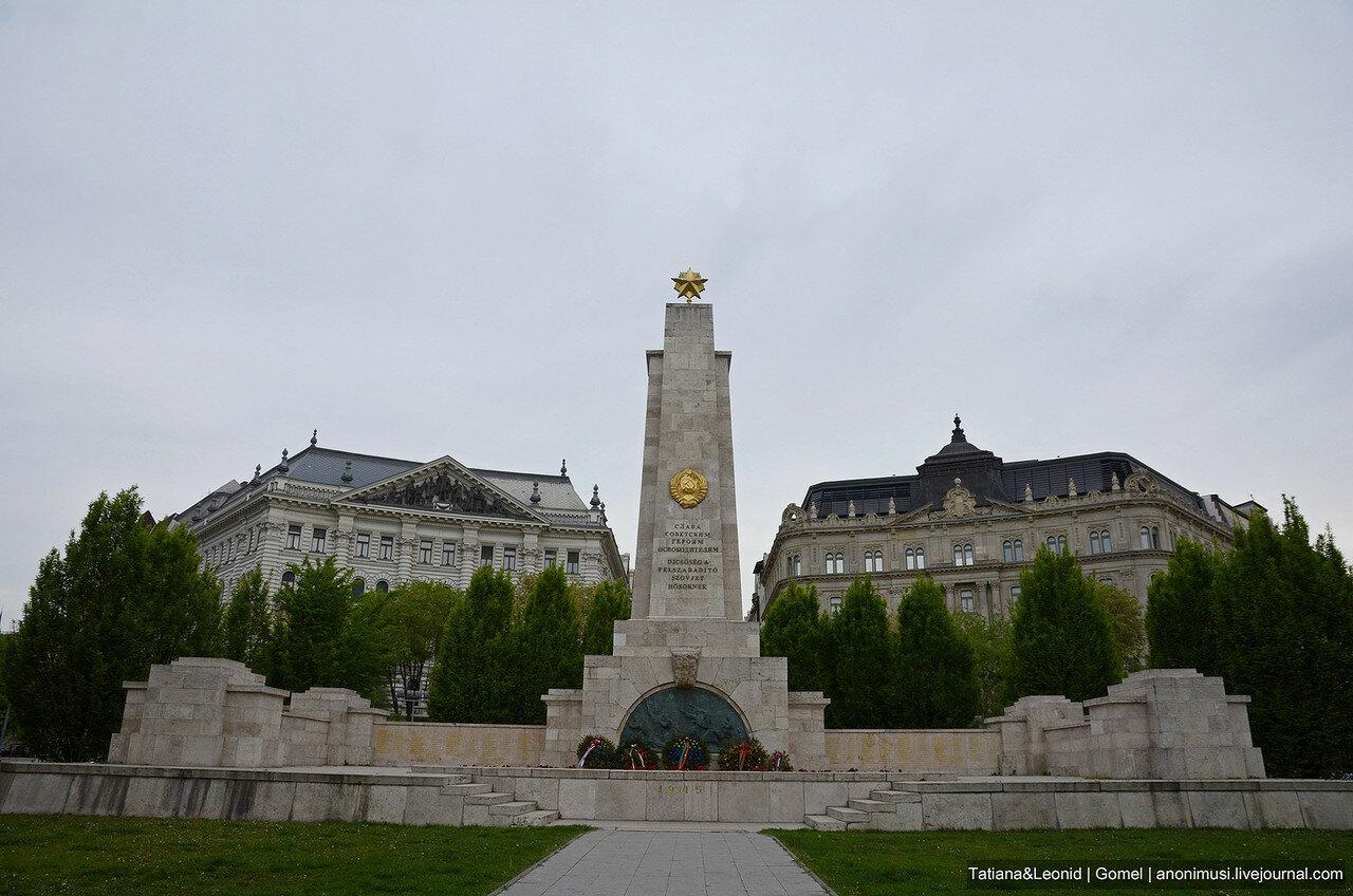 Памятник советским воинам-освободителям в Будапеште