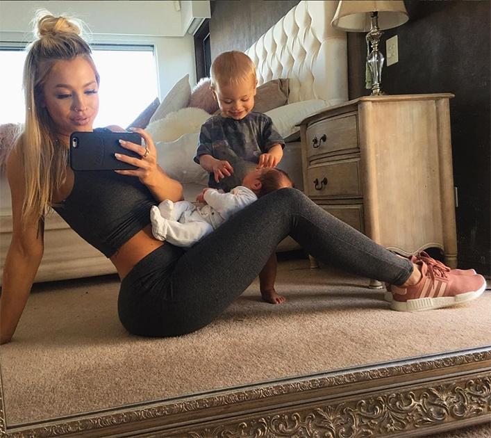 10 звезд Instagram, которые вернулись в форму после беременности