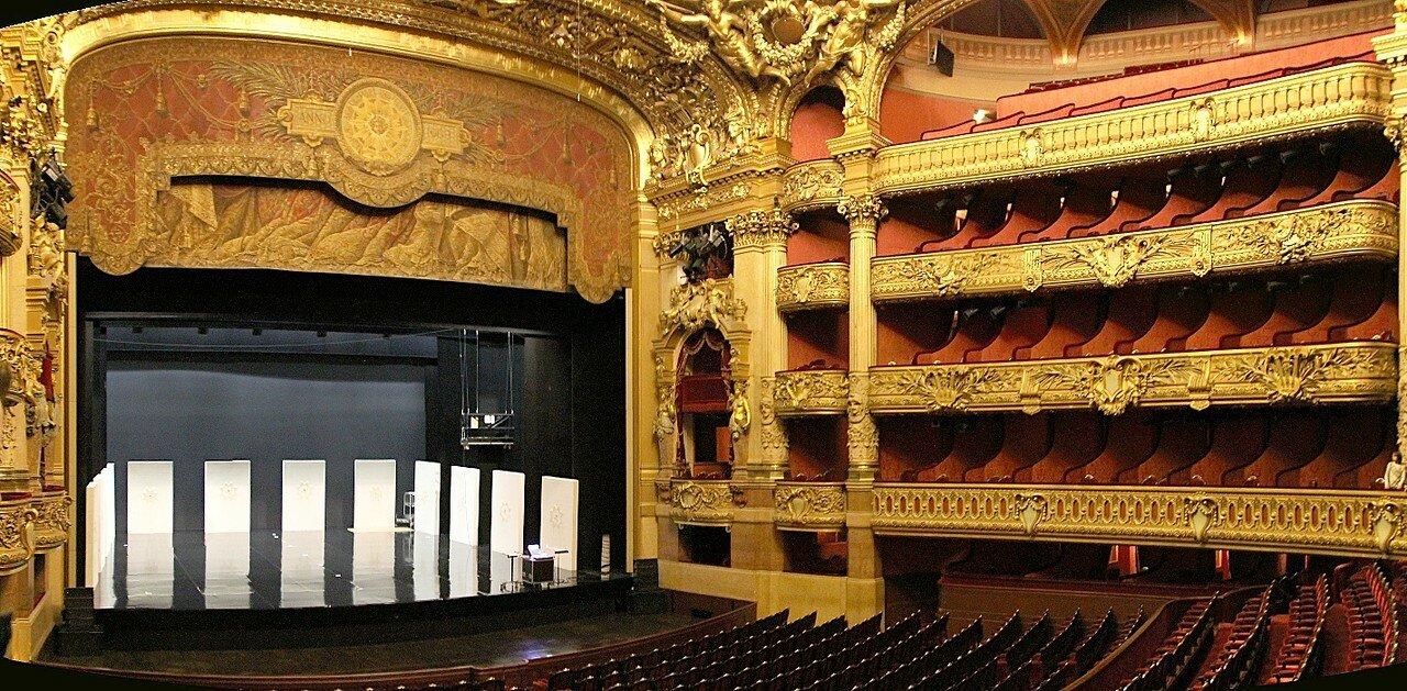 Grand Opéra (Opéra Garnier), interiors