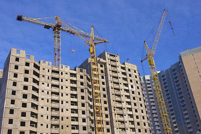 Строительство жилья в январе 2018