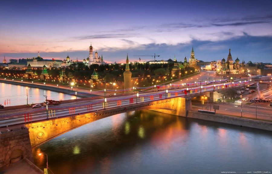 5. Панорама Московского Кремля, Москва. Май 2012