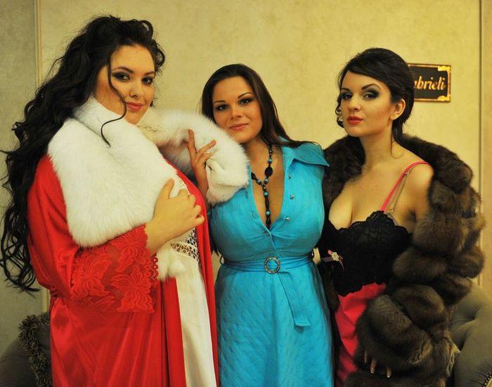 Конкурс красоты пышных женщин
