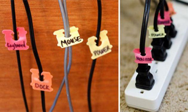 4. Держите все необходимые провода под рукой  Не все кабели мы можем спрятать в коробку: нек