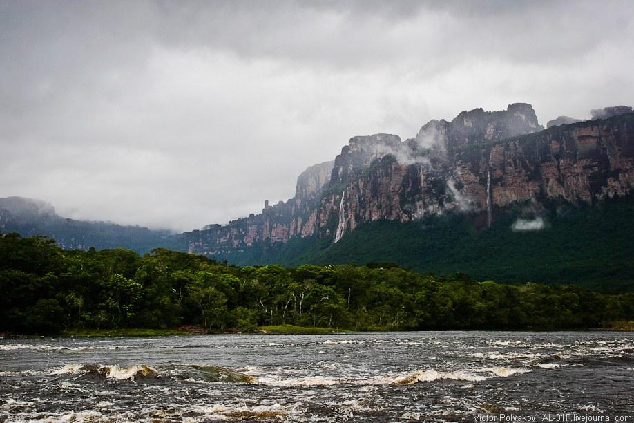 Найди на картинке водопад