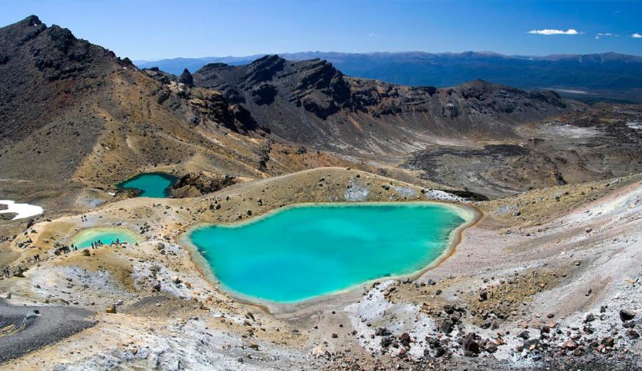 9. Национальный парк Тонгариро, Новая Зеландия Живущие здесь народности Маори во все времена обожест