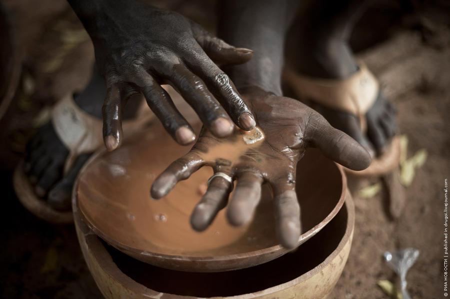 Как добывают золото в Мали