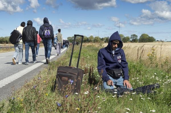 «Я терпеть немогу вас!»— шофёр шведского автобуса избил беженца