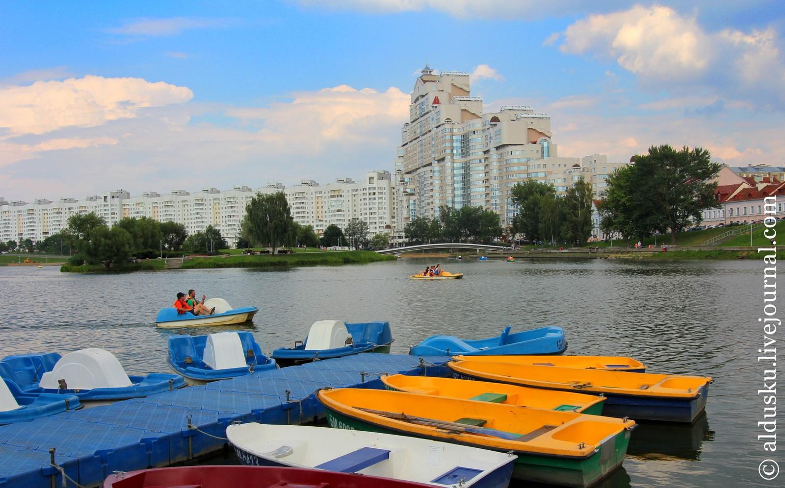 Вдоль реки Свислочь