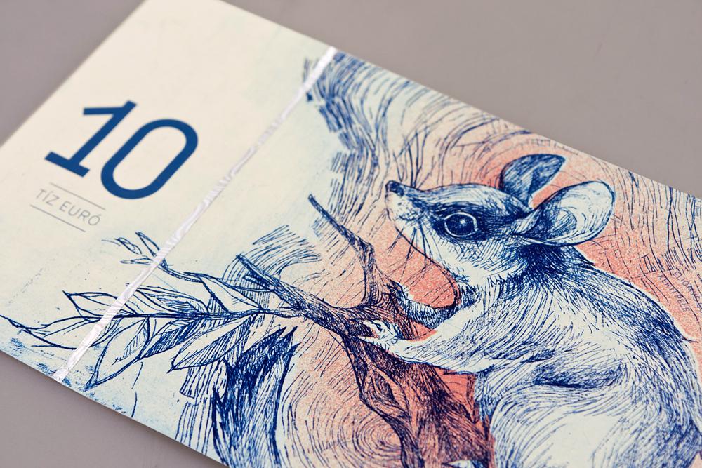Hungarian Banknote Concept Designed by Barbara Bernat