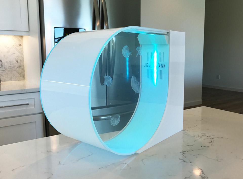 Stunning Futuristic Jellyfish Aquarium