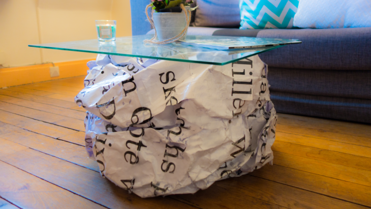 The Writers Block Coffee Table by Dash Lucky