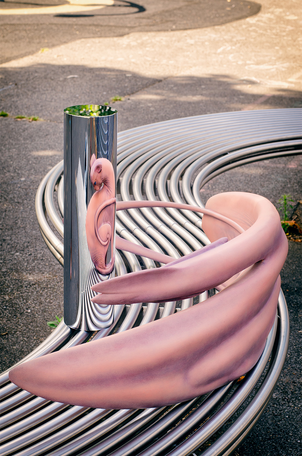 Wild New Anamorphic Sculptures From the Warped Mind of Jonty Hurwitz