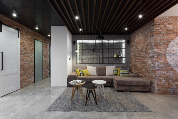 Modern Apartments In Kiev by MARTIN Architects