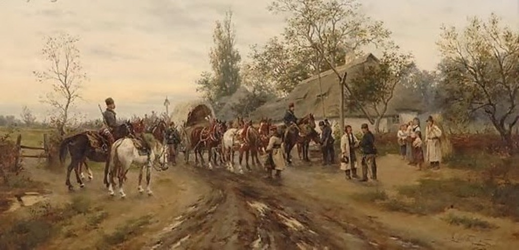 2 Gedlek_Cossacks-Stopping-at-a-Draw-Well-%28Kosaken-beim-Halt-an-einem-Ziehbrunnen%29.jpg