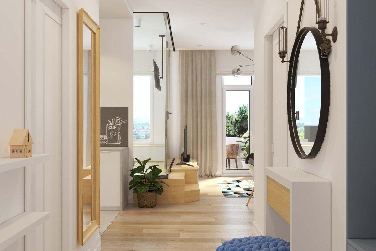 Многоуровневый пол в квартире