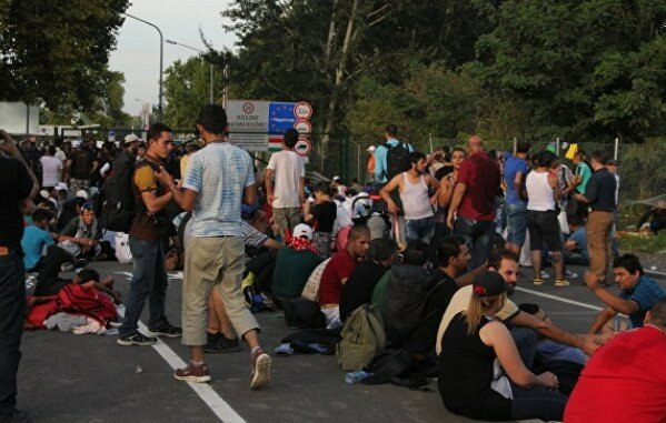 Сербия, Белград, беженцы, мигранты