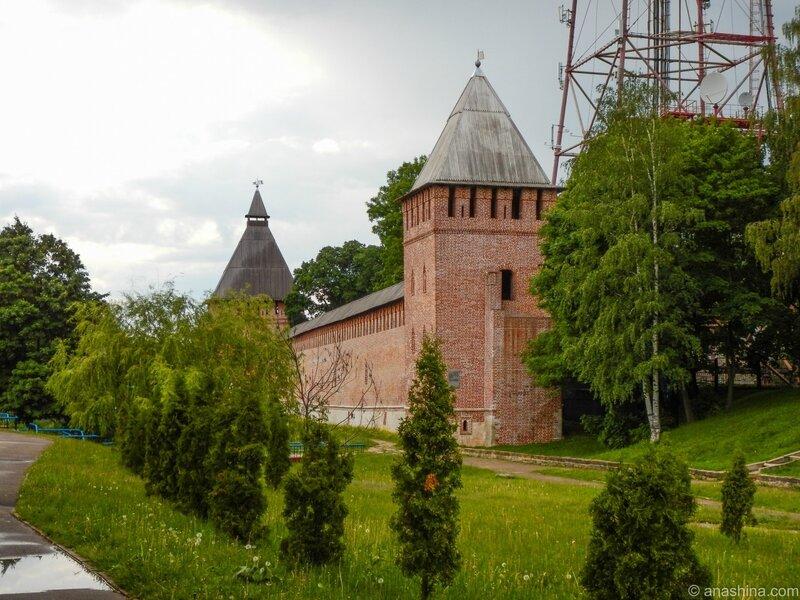 Участок крепостной стены, Смоленск, Смоленская крепость