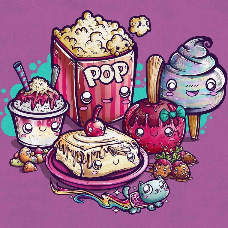 Pop Culture Tribute - Les magnifiques illustrations de Juan Manuel Orozco