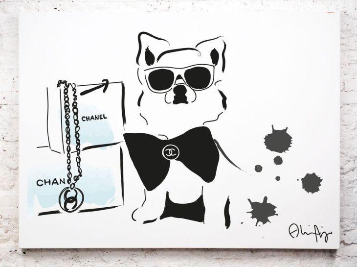 The minimalist pop-art of Alina Nordling