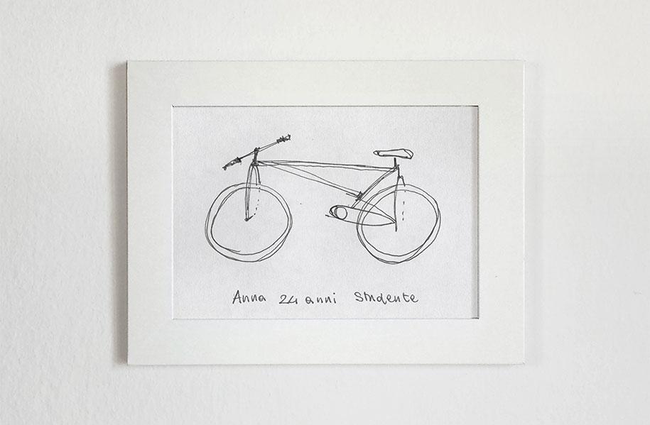 Designer cria em 3D bicicletas que seus amigos desenharam (2 pics)