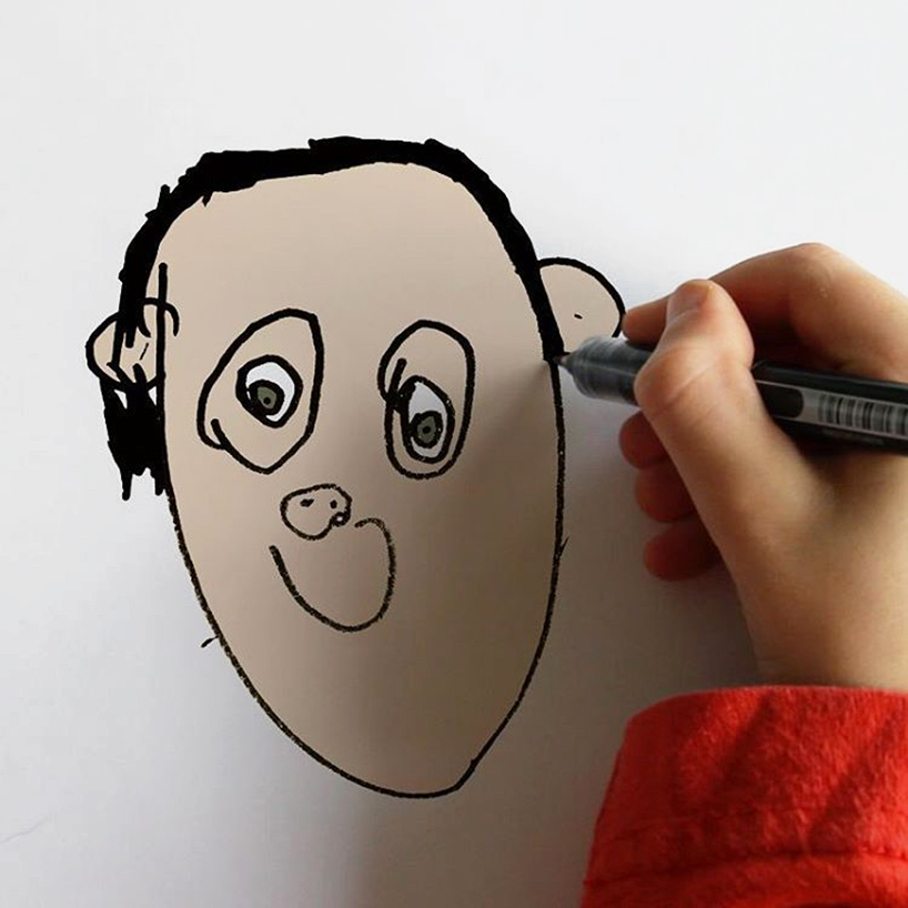 Funny Child Drawings Instagram