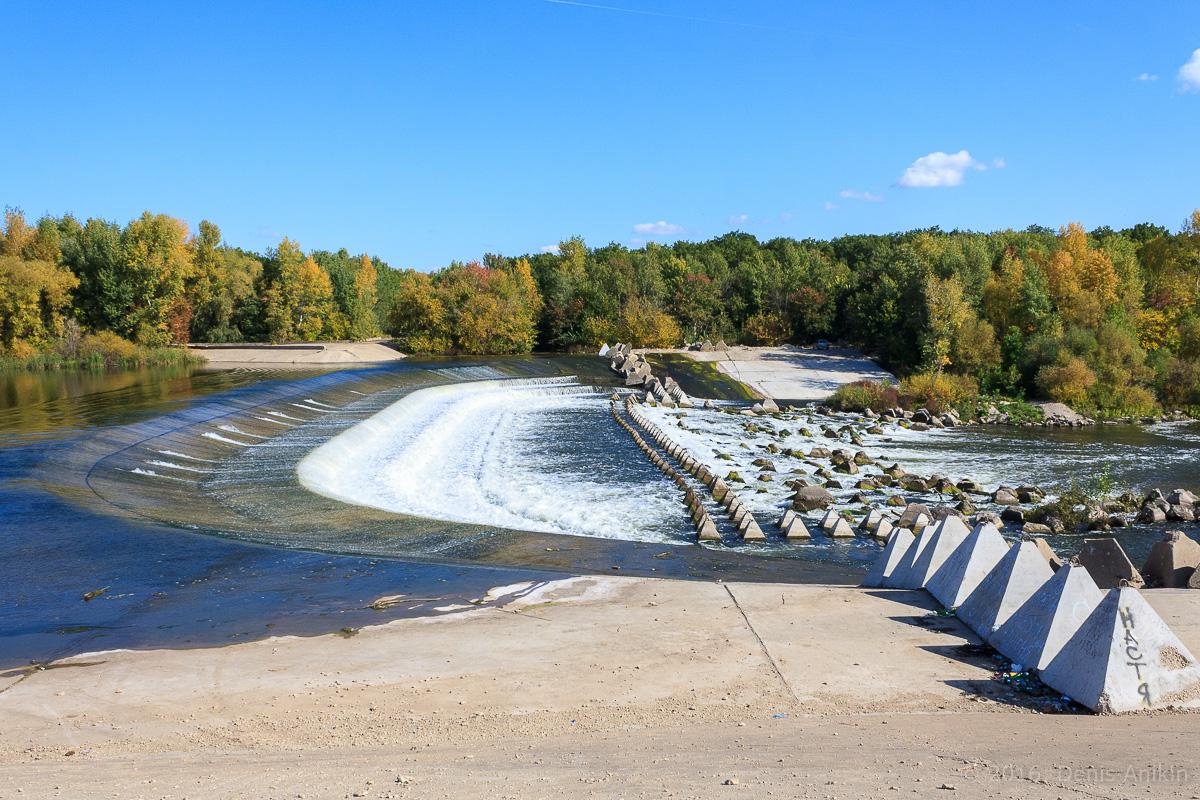Переливная плотина на реке Большой Иргиз 2