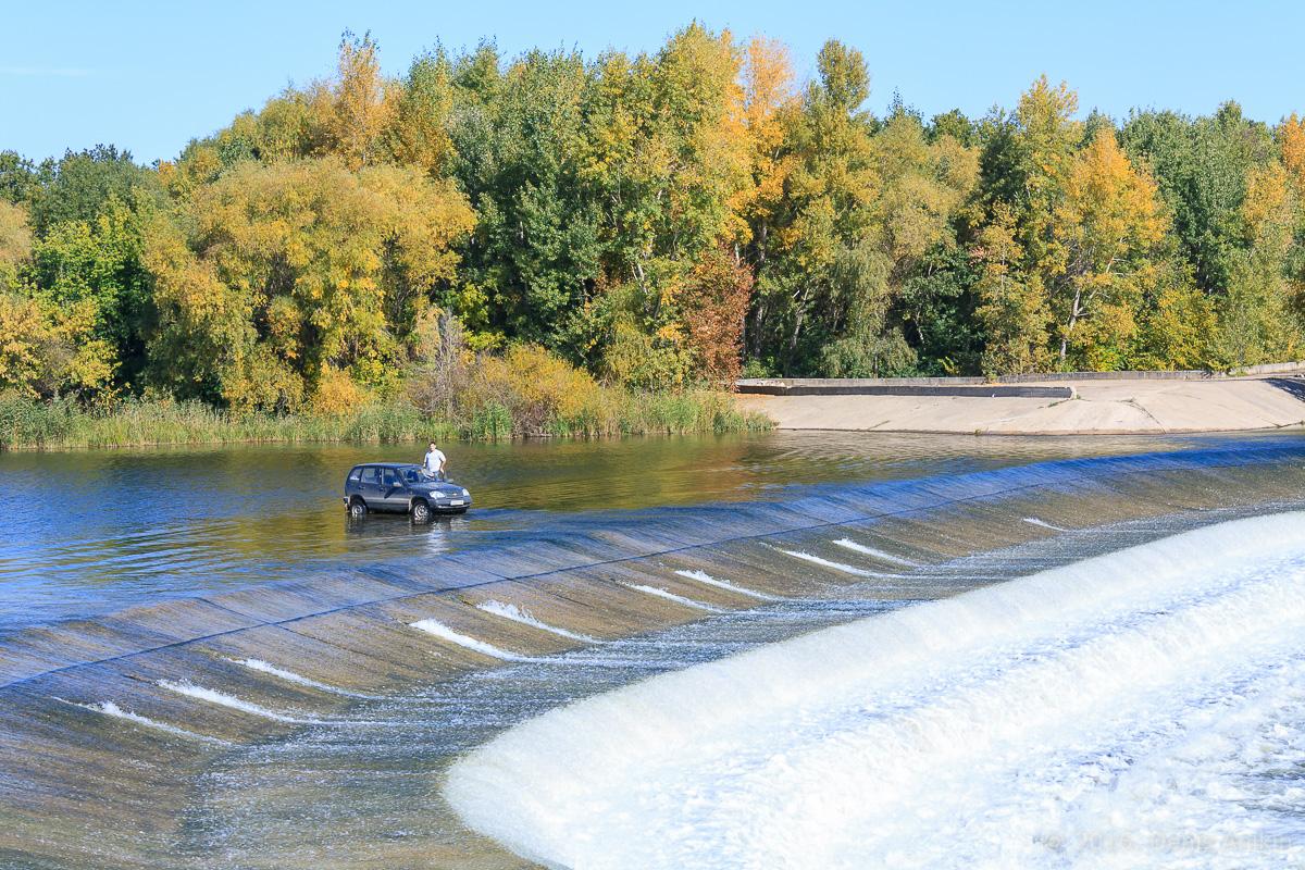 Переливная плотина на реке Большой Иргиз 9