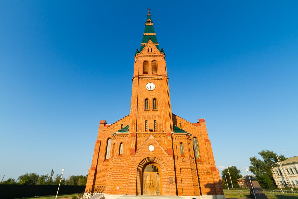 Лютеранская церковь Цюрих - Зоркино фото 2