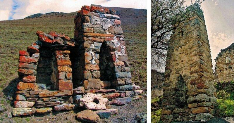Столпообразные святилища в Эрзи и Эгикале