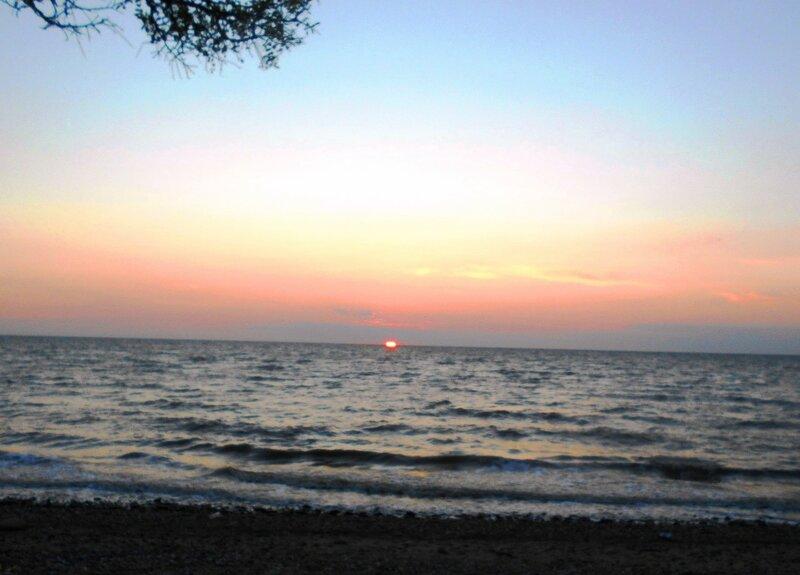 Вечер, море... Проводы Солнца ... DSCN5418.JPG