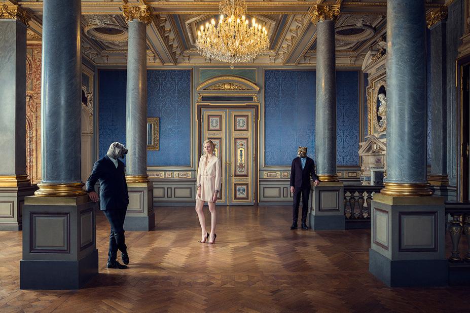Les colonnes - Une vie de chateau / A golden youth / photo by Malo