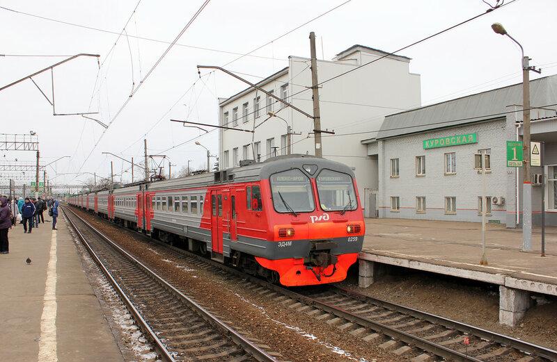 Эд4М-0259 на станции Куровская