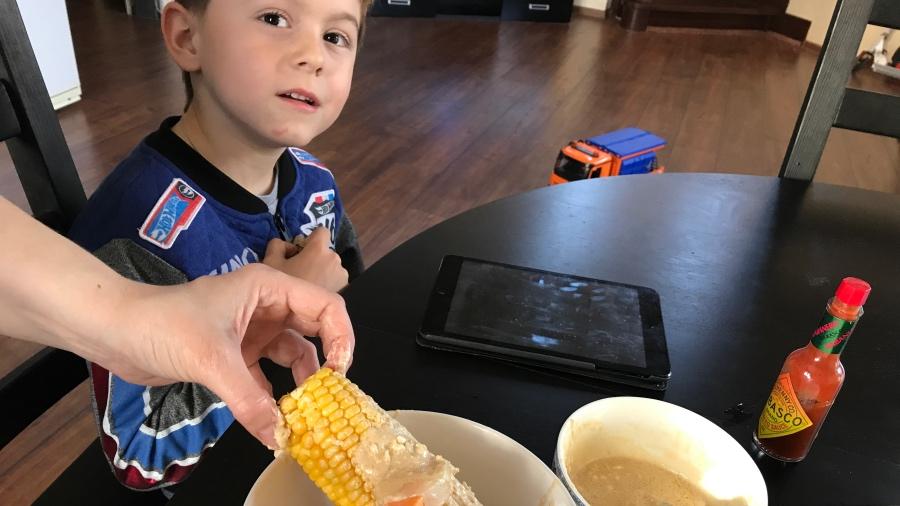 Сливочная кукуруза в духовке