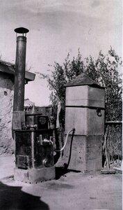 Дивизионный полевой госпиталь.. Устройство для стерилизации воды