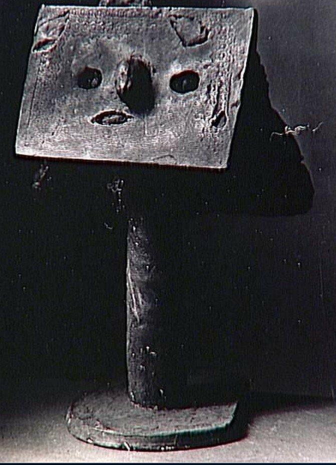 1930-е. Скульптура работы Пикассо