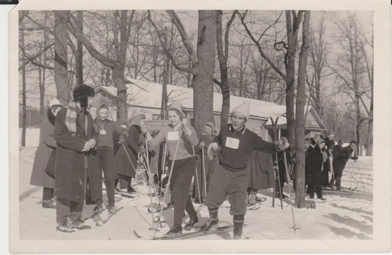 1950-е. Приоратский парк