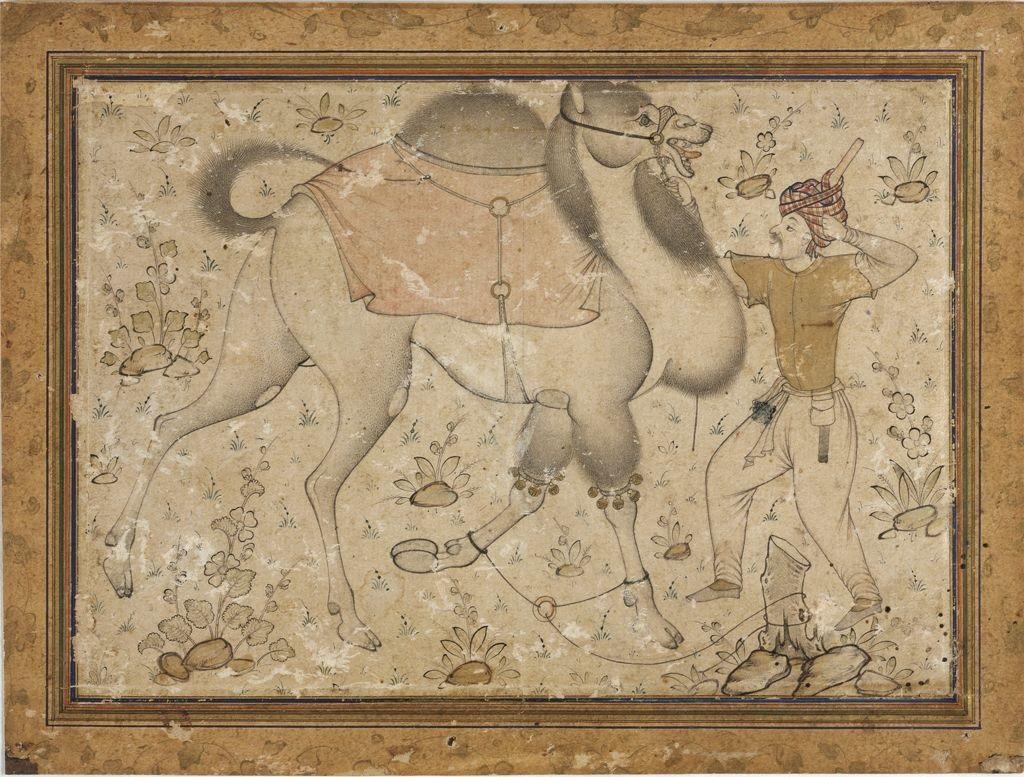 Mir_Sayyid_Ali_(attr),Tethered_Camel_and_Rider_ca__1535,_Fogg_Art_Museum,_Cambridge.jpg
