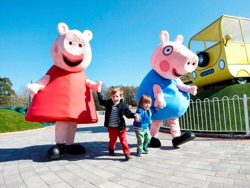 Дом Свинки Пеппы признан лучшим парком аттракционов Британии
