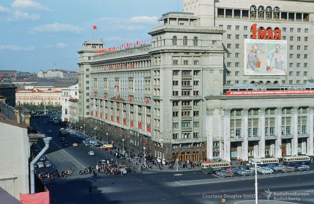 Манежная площадь в Москве, Martin Manhoff6.jpg