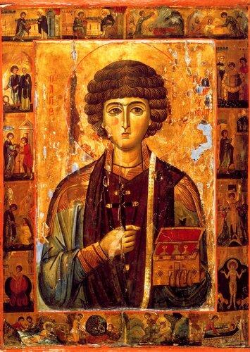 9 августа - День памяти Святого Великомученика и Целителя Пантелеимона.